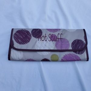 Thirty-One Sketchy Dot flat iron fold over